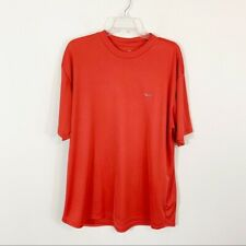 Men's • Nike Red Orange Dri-Fit Tee Xl