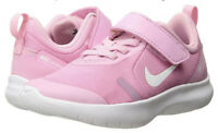 GIRL'S NIKE FLEX EXPERIENCE RN 8 PSV TODDLER SHOES PINK AQ2249 600 Sz 1Y, 2Y, 3Y