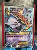 Mega M Mewtwo Ex 63/162 XY BREAKthrough Ultra Rare Holo Pokemon Card Great!