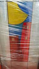 Vetro colorato per porta d'interno
