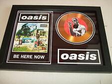 OASIS    SIGNED GOLD CD  DISC  55