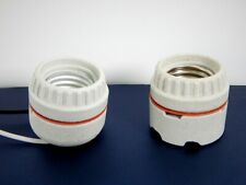 Medium Base Porcelain Sign Socket Receptacle