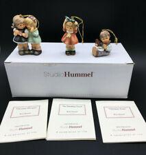 Berta Hummel Studio Hummel Ornaments - Set #7 (96037) - Mint in box w/Coas!