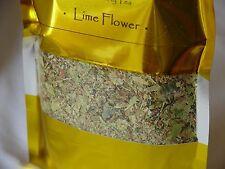 Tilleul naturel à base d'herbes médicinales Premium Loose Leaf Tea 50 g Fresh Sp...