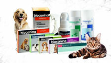 Biocanina for pets , Fleas , Ears, Eyes, detox and other problems for dogs, cats