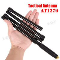 Foldable Tactical Goose Tube Walkie Talkie Antenna 10W for Baofeng UV-9R Plus