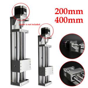 Manual CNC Sliding Table Cross Slide Linear Stage X Y Z Axis SFU1605 Ballscrew