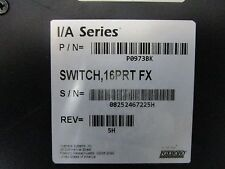 FOXBORO P0973BK SWITCH  16PRT FX