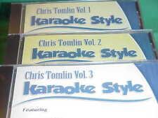 Chris Tomlin ~ #1, 2 & 3 ~ Christian~Daywind~Karaoke Style ~ Jesus Messiah ~CD+G
