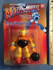 "1994 1995 Bandai Capcom Mega Man 5"" Bombman Action Feature Figure 21st Century"