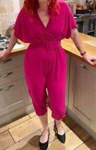 Hot Pink Jumpsuit Size 12 DLSB Jumpsuit