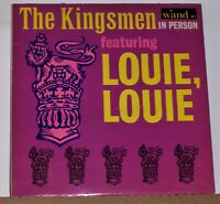 The Kingsmen ‎- The Kingsmen In Person - 1964 LP Record Album - Excellent Vinyl