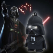 1PC Cool Red Light Up LED Star Wars Darth Vader With Sound Keyring Keychain Gift