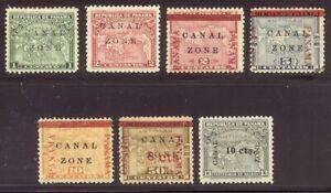 CANAL ZONE #9//36 MInt - 1904-11 Overprints ($68)