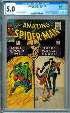Amazing Spider-Man # 37  CGC 5.0 OW!  First Norman Osborn!  Ditko!