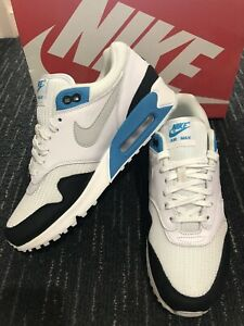Nike Air Max 90/1 Hybrid White Laser Blue Size 9
