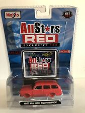 Maisto All Star Red 1967 VW 1600 Squareback TARGET EXCLUSIVE CHASE