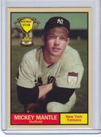 Mickey Mantle '51 New York Yankees Rookie Stars series #18 by Monarch Corona