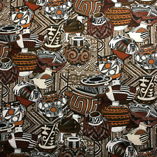 Fat Quarter Southwestern Baskets Print Cotton Fabric Quilt Fq Great for Masks