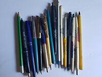 Pen and Pencil Lot Manitoba Essa Canada Personalized Vintage
