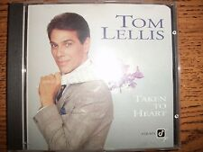 Tom Lellis-Taken To Heart-1993 Concord Jazz-Promo!