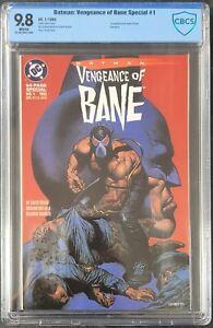 Batman Vengeance of Bane #1 + #2 DC 1993 1st Appearance CBCS NM/MT 9.8 (not CGC)