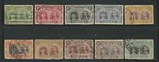 Rhodesia: set in 1910 Queen Mary and King George V, used, some values,... RH16