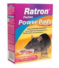Frunol Ratron Pasten Power-Pads 29 ppm 14x15 g | Rattenköder Rattengift