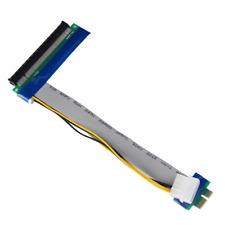 PCI-E 1X Slot Riser Card Extender Extension Ribbon Flex Cable PCI-Express Lead