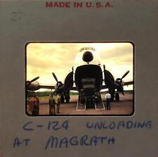 4 Orig 35MM slides USAF C-124 Globemaster Transportation Plane, 1950s Kodachrome