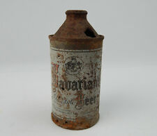 Vintage Bavarian Old Style Cone top beer can Rusted & Roached!