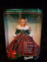 Barbie Happy Holidays Gala Barbie Doll 1995 NIB