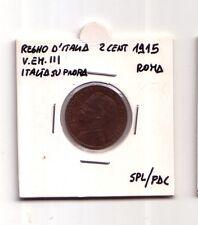 Regno d'Italia  2 cent.1915  Italia su prora Roma  V.Em. III  SPL/FDC   (m1114)