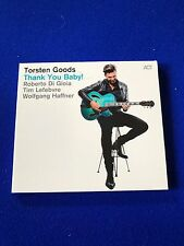 NEW Torsten Goods Thank You Baby! 2015 Jazz ACT CD Promo Copy