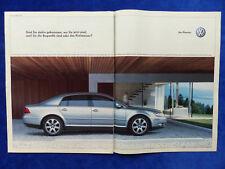 VW Phaeton V10 TDI - Werbeanzeige Reklame Advertisement 2003 __ (489