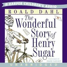 BOOK/AUDIOBOOK CD Age 10+ Roald Dahl Fiction THE WONDERFUL STORY OF HENRY SUGAR
