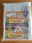 CoverGrip 8 ft. W x 10 ft. L 8oz Canvas Drop Cloth 1 pk