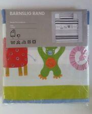 IKEA BARNSLIG RAND Twin Quilt Duvet Cover And Pillowcase NEW