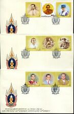 THAILAND STAMP 2007 H.M. THE KING'S 80th BIRTHDAY ( 2nd SERIES ) FDC