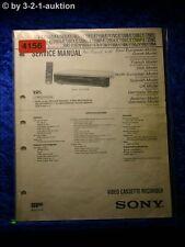 Sony Service Manual SLV E717VC /E720VC /E720UX Video Recorder (#4156)