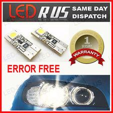 BMW E39 E46 E60 501 2 LED SIDELIGHTS  NO WARNING ERRORS CANBUS ERROR FREE NEW!
