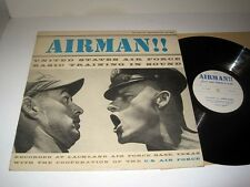 UNITED STATES AIRFORCE BASIC TRAINING IN SOUND Airman! DOCUMENTARY RECORD NM/NM-