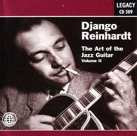 DJANGO REINHARDT - The Art of the Jazz Guitar Vol. 2 - CD - NEW