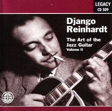 DJANGO REINHARDT - The Art of the Jazz Guitar Vol. 2 (gypsy jazz) CD [B8]