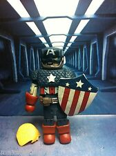 Marvel Minimates WW2 WORLD WAR CAPTAIN AMERICA Through The Ages Box set
