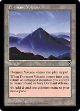 DORMANT VOLCANO Visions MTG Land Unc