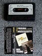NEIL YOUNG - After the gold rush / Harvest - K7 audio / cassette / TAPE