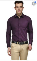 "Mens Calvin Klein Violet Slim Fit Shirt UK 15""16""17"" Available BNWT"