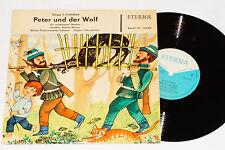 """PETER UND DER WOLF - (Sergei Prokofiev) 10"""" Eterna"""
