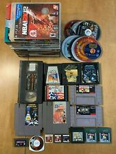 UNTESTED Misc Video Game Lot - SNES, NES, Gameboy, PS2, Wii, and More